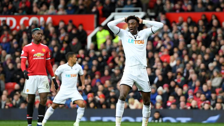 Abraham endured an indifferent spell at Swansea, going on a 17-game goal drought in the Premier League after a bright start at the Liberty Stadium
