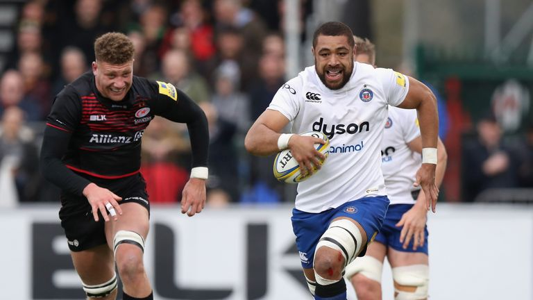 Taulupe Faletau is happy to remain with Bath