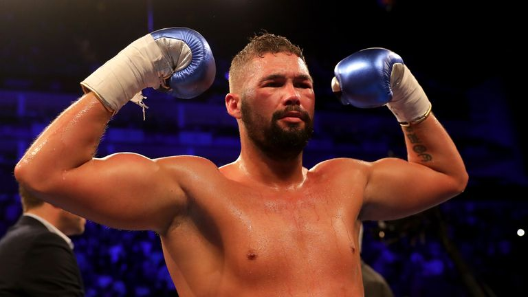 Bellew as a heavyweight for his fights against David Haye