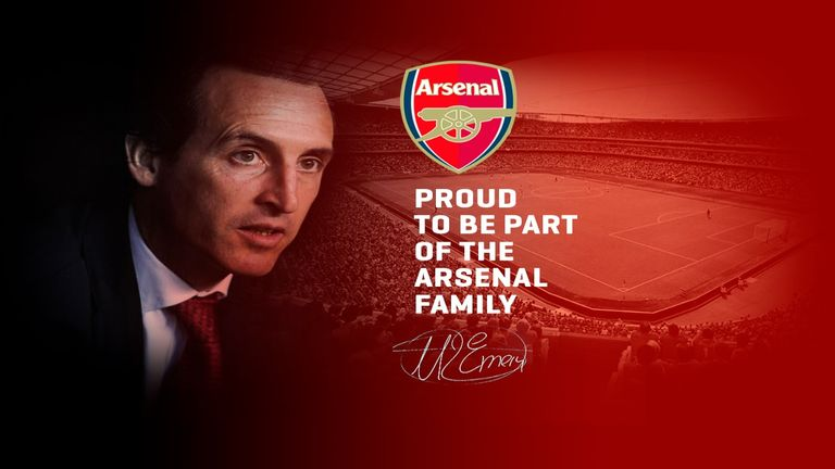 The image was published on the website unai-emery.com but was later deleted