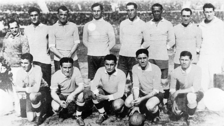 addcdbaf3 World Cups remembered  Uruguay 1930
