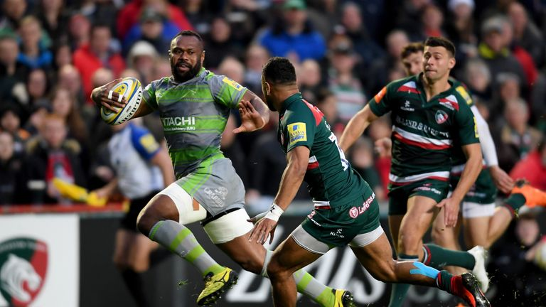 Vereniki Goneva was crowned player of the year at the Premiership Rugby Awards
