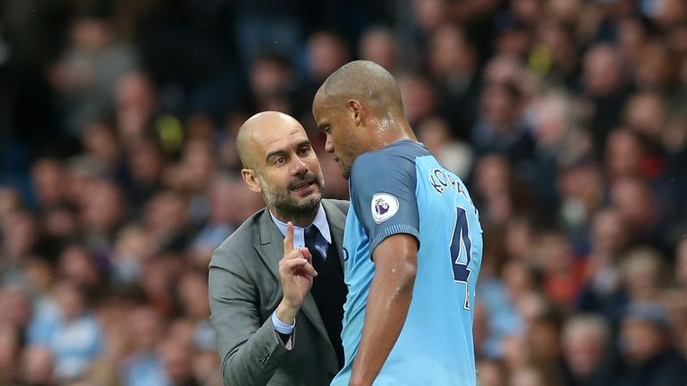 Kompany believes Pep Guardiola's squad is well placed to defend their Premier League title