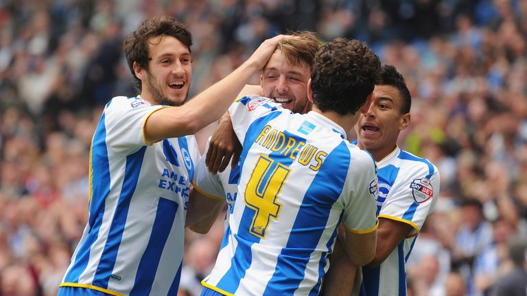 Keith Andrews played alongside Lingard for Brighton back in 2014