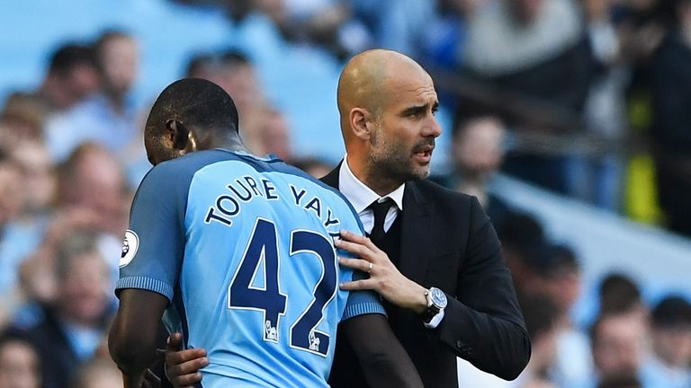 Guardiola says City will dedicate their game against Brighton to Toure