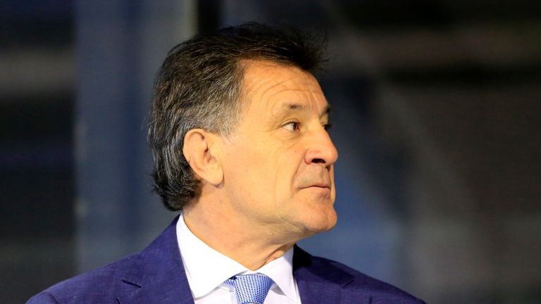 Zdravko Mamic has been given a prison sentence but remains in Bosnia