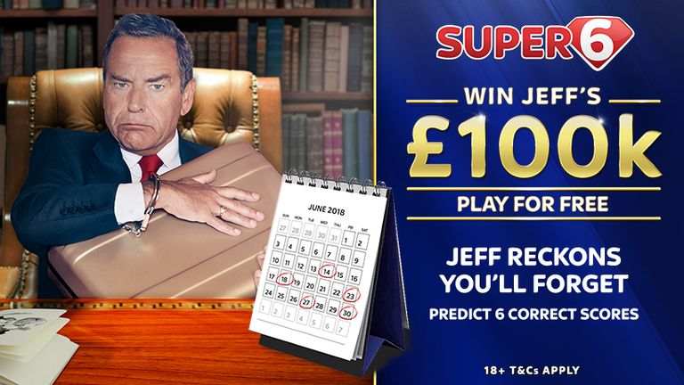World Cup Super 6: Predict six scores to win £100k