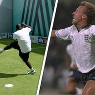 Akinfenwa recreates Platt volley!