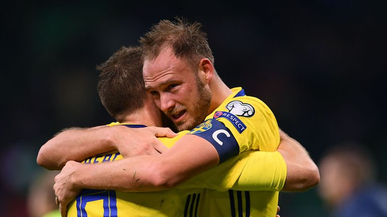 Andreas Granqvist is Sweden's leader