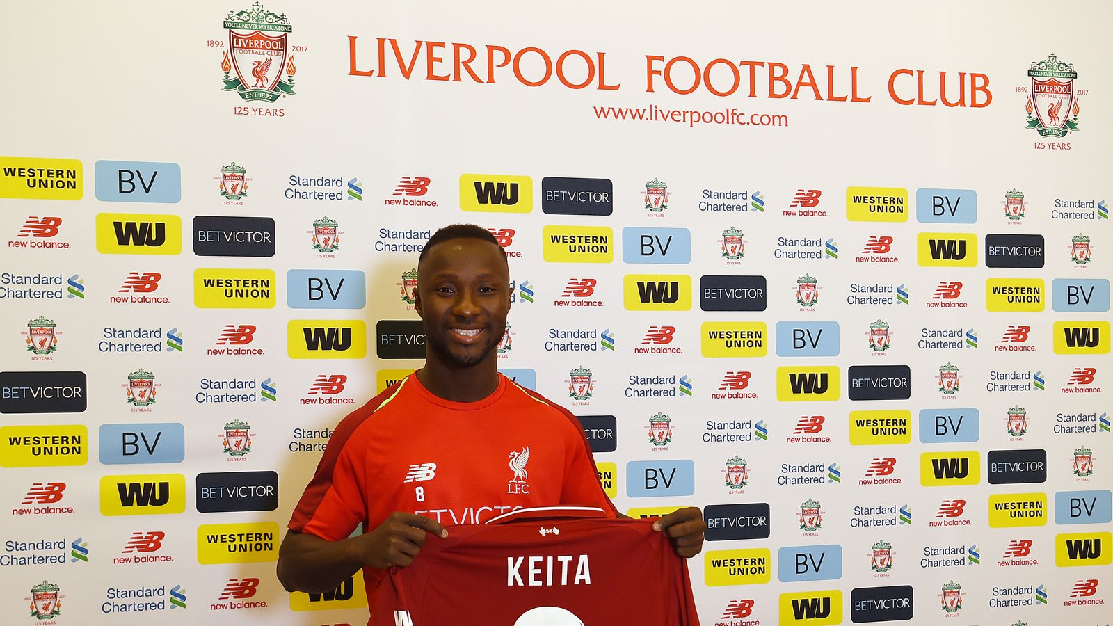 7438f0a7f Naby Keita confirmed as Liverpool s new No 8 but puts defence first ...