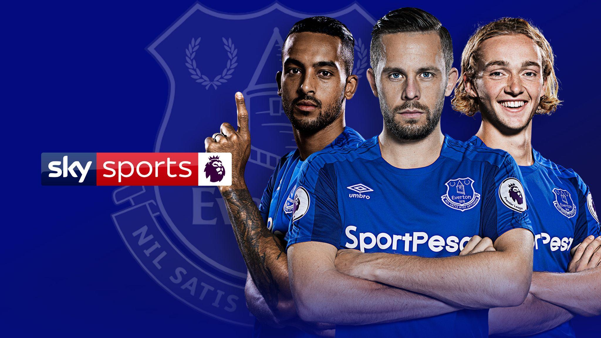 Everton Fixtures Premier League 2018 19 Football News Sky Sports
