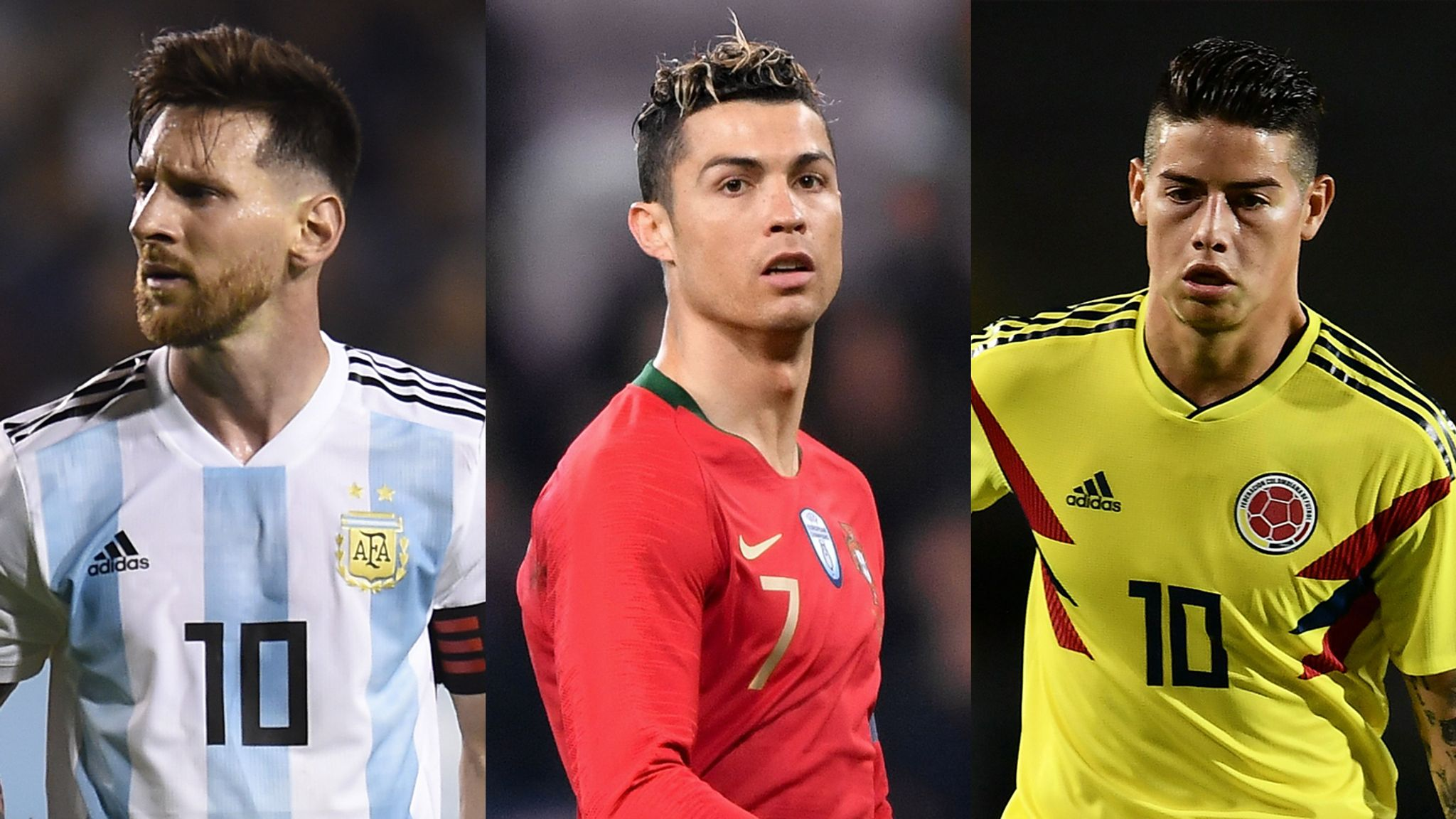 World Cup Best Xi Based On Stats Cristiano Ronaldo Lionel Messi James Rodriguez And More Football News Sky Sports