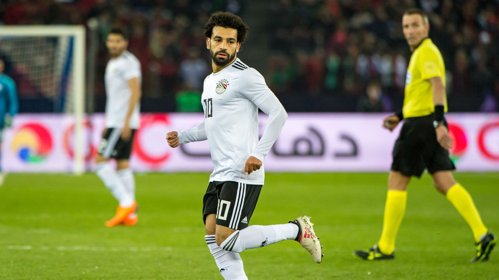 check out 6ed1f 79f3e Mohamed Salah feeling good ahead of World Cup with Egypt ...