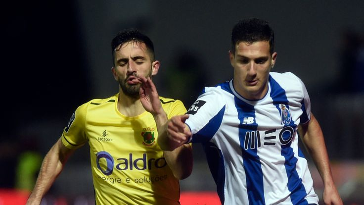 Diogo Dalot only made his first-team debut for Porto in February