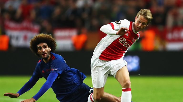 Frenkie De Jong expects to stay at Ajax next season despite interest from Barcelona