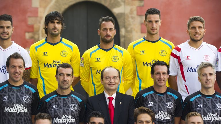 Unai Emery has worked with Denis Suarez at Sevilla