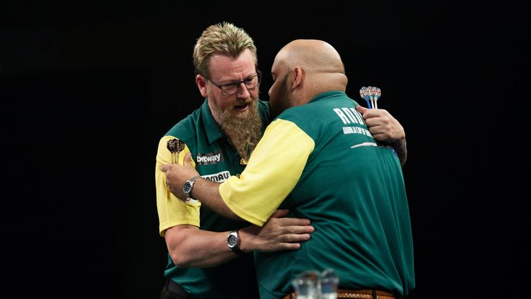 World Cup partners Whitlock and Kyle Anderson face off in one of the stand-out first-round ties