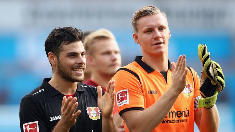 Leno spent seven seasons as Bayer Leverkusen's No 1