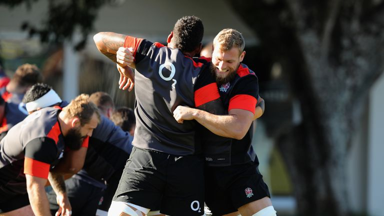 Brad Shields has been named on the bench for Saturday's first Test