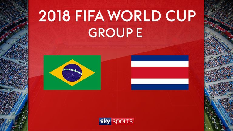 Brazil V Costa Rica Preview Neymar To Start World Cup Group E Clash