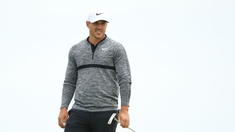 Brooks Koepka says he is now '100 per cent' past his injury