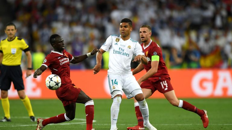 Liverpool lost to Real Madrid in last year's Champions League final