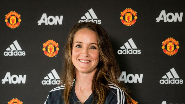 Casey Stoney was appointed Manchester United Women's manager in June.