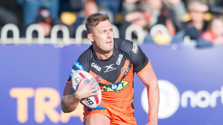 Greg Eden is available to return for Castleford