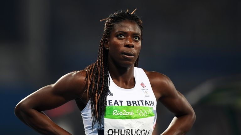 Christine Ohuruogu retired aged 34 last month