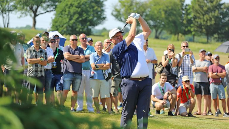 Colin Montgomerie closed with a 67 to win by three shots