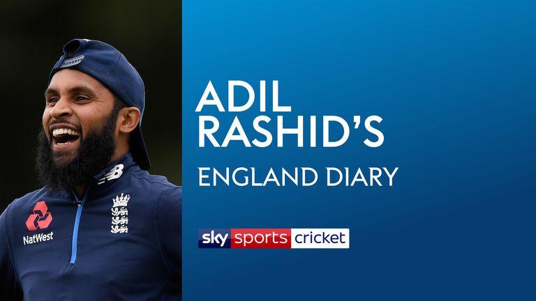 Adil Rashid's England Diary