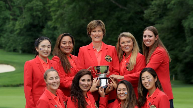 Great Britain and Ireland were thrashed 17-3 at the 2018 Curtis Cup