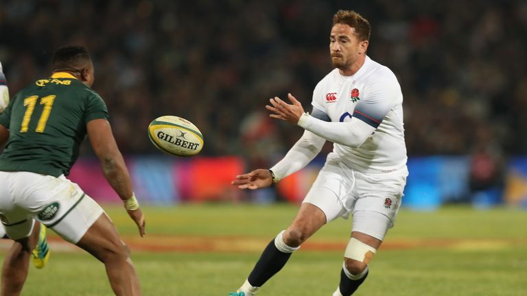 Cipriani made his first England start in a decade in their third Test win over South Africa in June