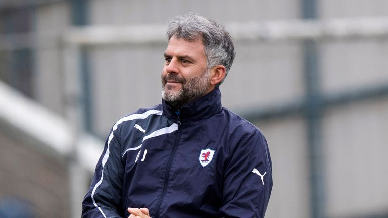Darren Jackson has joined the coaching staff at St Mirren