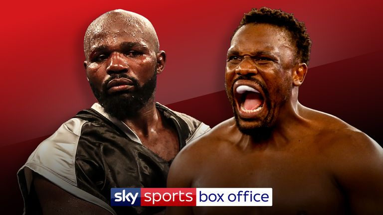 Dereck Chisora and Carlos Takam are the chief support on Saturday