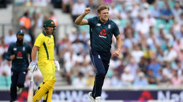 David Willey remains a threat with the new ball for England