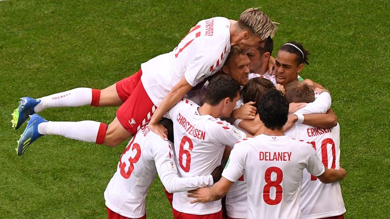 Denmark reached the round of 16 in the World Cup this summer, losing to finalists Croatia
