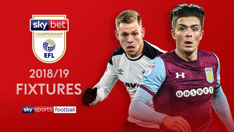 2018/19 EFL Championship Fixtures Announcement