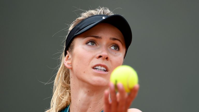 Elina Svitolina suffered a shock exit from the French Open