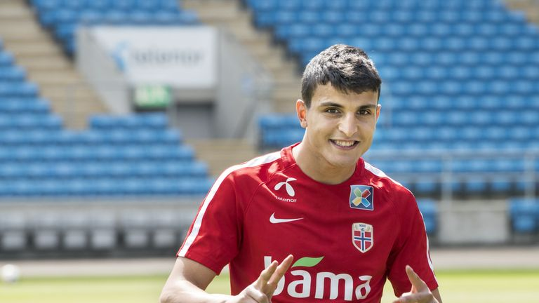 Mohamed Elyounoussi has 14 caps for Norway