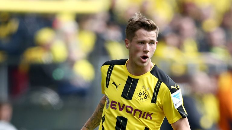 Erik Durm did not play a single game for Dortmund last season in a campaign plagued by injury troubles