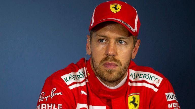 Sebastian Vettel demoted three places for Austrian GP  1ab3680bf1f