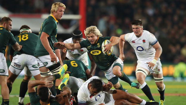 Faf de Klerk was outstanding for South Africa