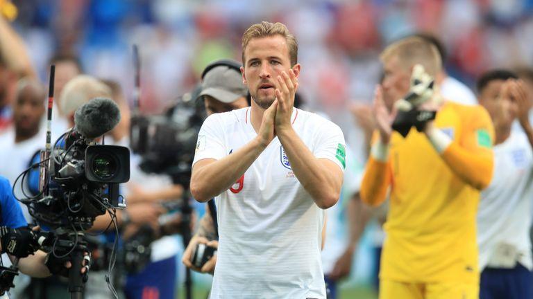 Harry Kane after England's win over Panama