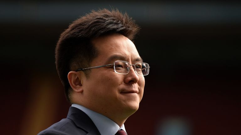 Dr Tony Xia will become co-chairman of the club and remain on the board