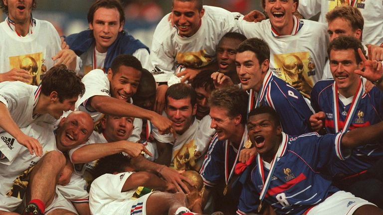 France were the last team to win the World Cup on home soil