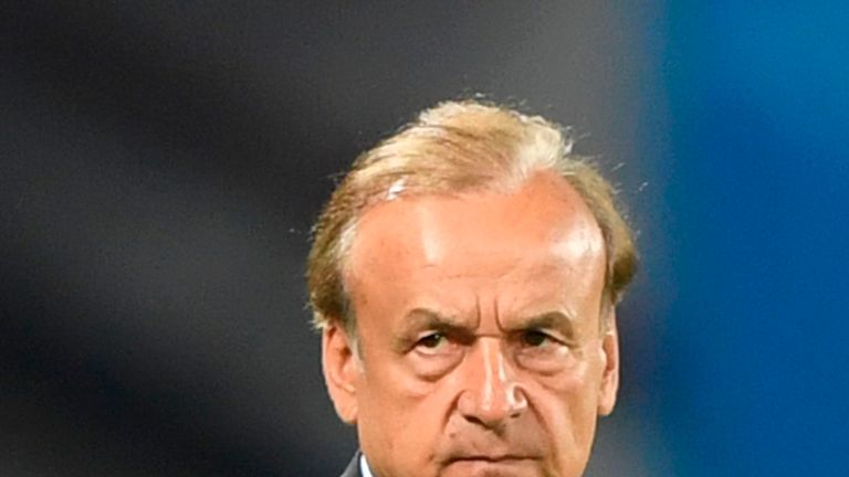 Nigeria manager Gernot Rohr says they will peak in 2022