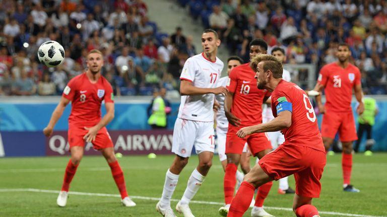 Kane scored a late winner in England's Group G opener against Tunisia