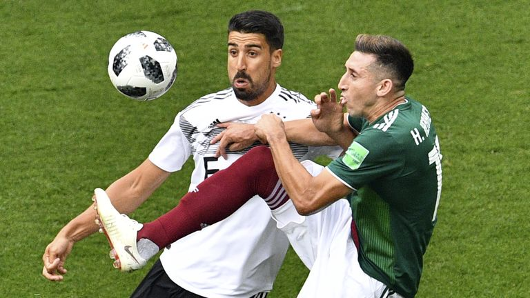 Mexico stunned Germany, claiming a 1-0 win in Group F