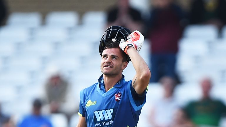 Kuhn hit four tons in five innings to propel Kent to a Lord's final